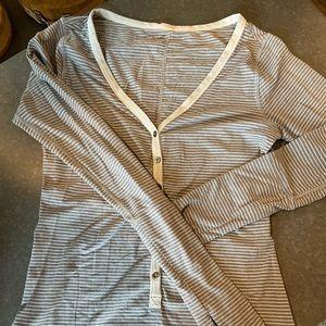 Lululemon striped long sleeve size 6